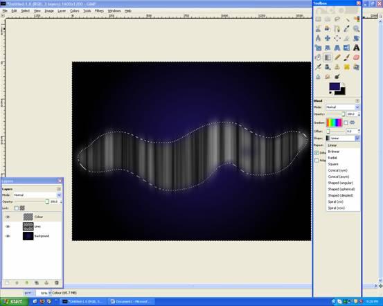 Gradient Tool: Overlay